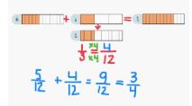 numerous fractions