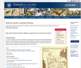 Jefferson and the Louisiana Purchase – America in Class – resources for history & literature teachers