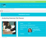 Analyzing Grammar Pet Peeves