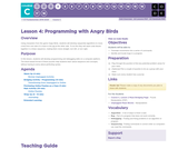CS Fundamentals 3.4: Programming with Angry Birds