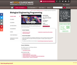 Biological Engineering Programming, Spring 2006