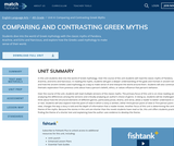 Comparing and Contrasting Greek Myths