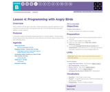CS Fundamentals 2.4: Programming with Angry Birds