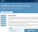 Continents: Understanding the World