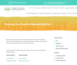 MAEIA Performance Assessment - Drawing Your Favorite Weekend Activity