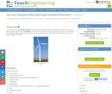 Energía Eólica (para Aprendizaje Informal)