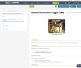 Garden Humanities: Apple Cider