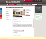 Architectural Design: Intentions, Spring 2004