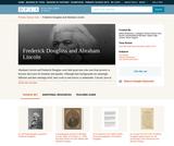 Frederick Douglass and Abraham Lincoln