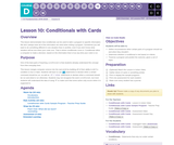 CS Fundamentals 4.10: Conditionals with Cards
