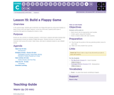 CS Fundamentals 3.15: Build a Flappy Game