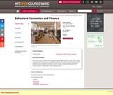 Behavioral Economics and Finance, Spring 2004