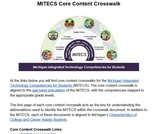 MITECS Core Content Crosswalk