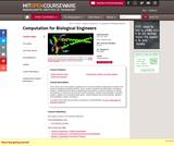Computation for Biological Engineers, Fall 2006