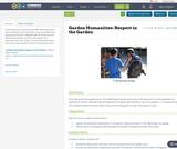 Garden Humanities: Respect in the Garden