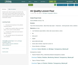 Air Quality Lesson 4 : How Can We Monitor Air Quality?
