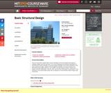 Basic Structural Design, Spring 2009