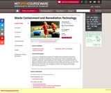 Waste Containment and Remediation Technology, Spring 2004