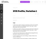 DVD Profits, Variation 1