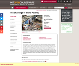 The Challenge of World Poverty, Spring 2011