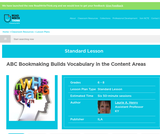 ABC Bookmaking Builds Vocabulary in the Content Areas