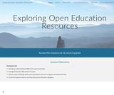 Exploring Open Education Resources