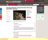 The Age of Reason: Europe from the 17th to the Early 19th Centuries, Spring 2011