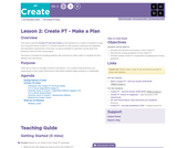 CS Principles 2019-2020 7.2: Create PT - Make a Plan