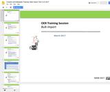 OAS Eastern Caribbean Training Module: OER Discovery