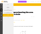 7.G Approximating the area of a circle
