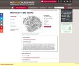 Neuroscience and Society, Spring 2010