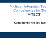 Competency Aligned Resources Slide Deck