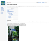 ISKME's Sun Curve Design Challenge Project Wiki Page