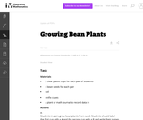1.MD Growing Bean Plants