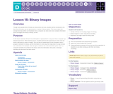 CS Fundamentals 4.15: Binary Images