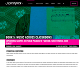 """Book 5, Music Across Classrooms: Visual Arts. Chapter 5, Lesson 1: Exploring Shapes in Pablo Picasso's """"Guitar, Sheet Music, and Glass"""""""