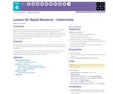 CS Principles 2019-2020 4.1: Rapid Research - Cybercrime