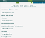 Air Quality Unit - Lesson 1 : What Gets Into the Air?