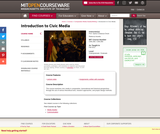 Introduction to Civic Media, Fall 2012