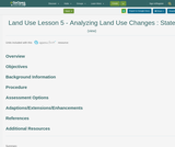Land Use Lesson 5 - Analyzing Land Use Changes : State