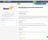 BlendEd Best Practices Unit Text Structure