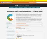 Automotive General Services Technician Model