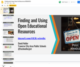 Finding and Using Open Ed Resources (REMIXED)
