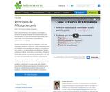 Principios de Microeconomía