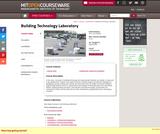 Building Technology Laboratory, Spring 2004