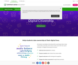 Common Sense Media: K-12 Digital Literacy and Citizenship Curriculum