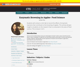 Enzymatic Browning in Apples- Food Science