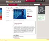 Organizations and Environments, Fall 2004