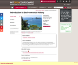 Introduction to Environmental History, Spring 2011