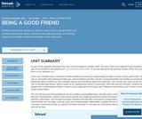 1st Grade English Language Arts - Unit 1: Being a Good Friend